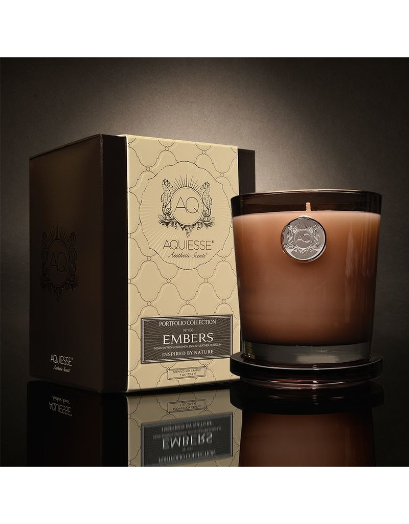 Aquiesse Embers Soy Candle