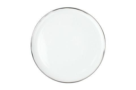 Dauville Dinner Plate in Platinum