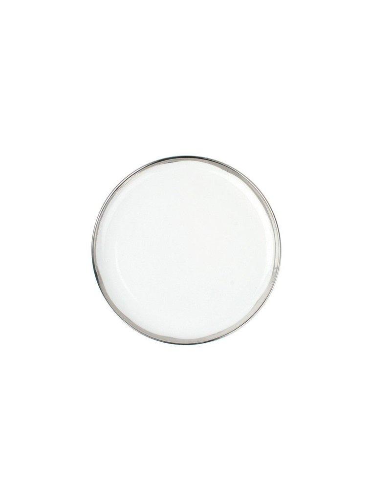 Canvas Home Dauville Salad Plate in Platinum
