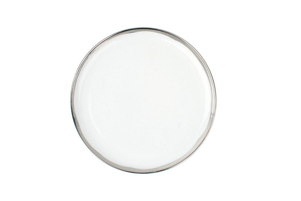 Dauville Salad Plate in Platinum