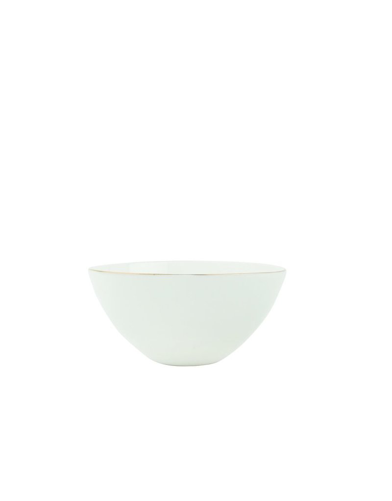 Canvas Home Abbesses Bowl in Gold, Small