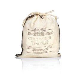 Elizabeth W Cucumber Bath Salts, 16 oz.