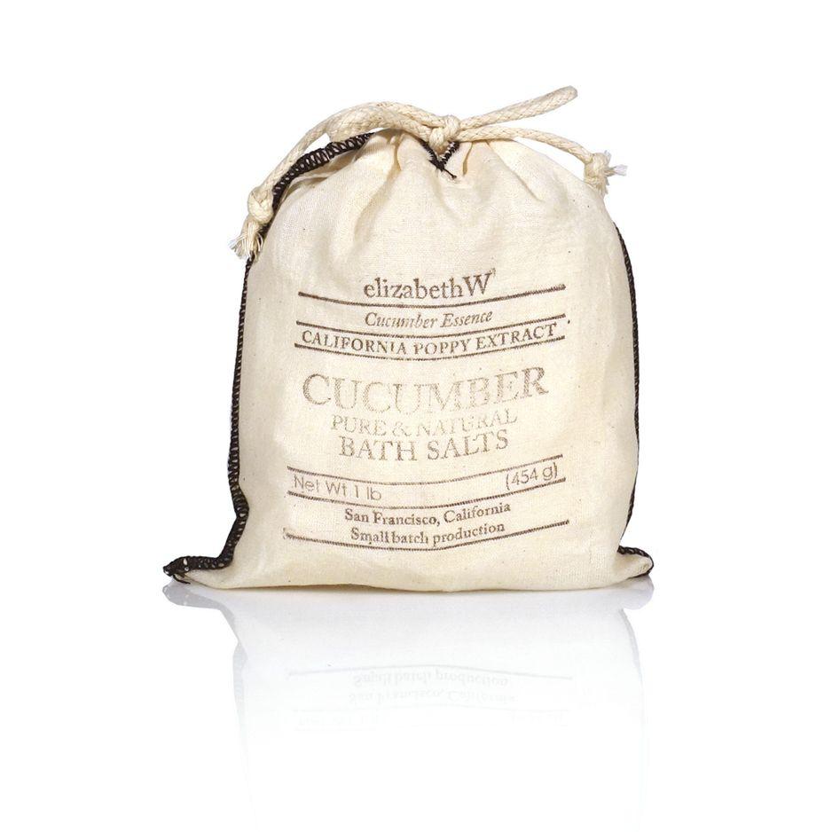 Cucumber Bath Salts, 16 oz.