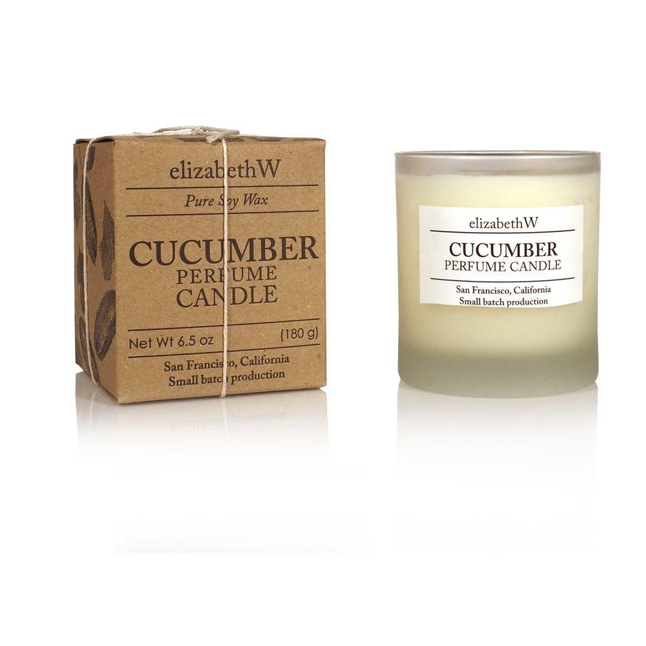 Cucumber Aromatherapy Candle