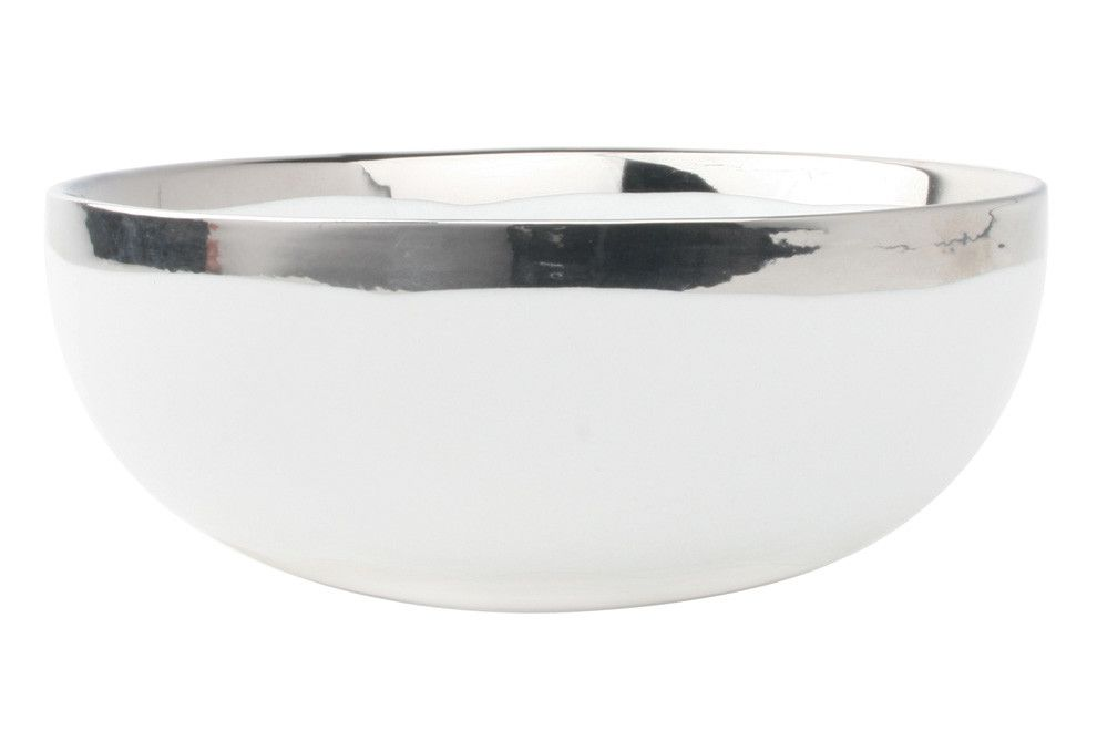 Dauville Cereal Bowl in Platinum
