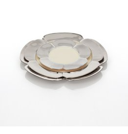 Medium Aster Plate, Polished/Oyster