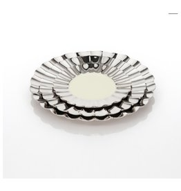 Medium Cadence Plate, Polished/Oyster