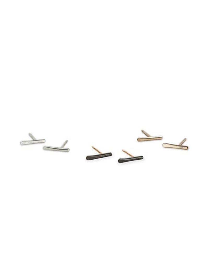 Colleen Mauer Designs Stria Studs, Silver
