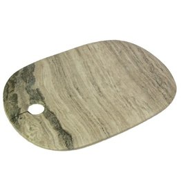 Curve Marble Serving Board, Large Wide