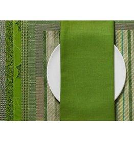 Single Sided Linen Napkin, Grass Green