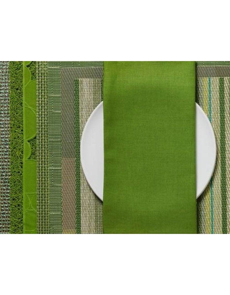 Chilewich Linen Napkin 21x21 GRASS