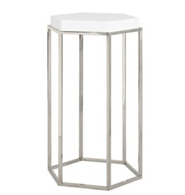 Worlds Away Elsa Accent Table