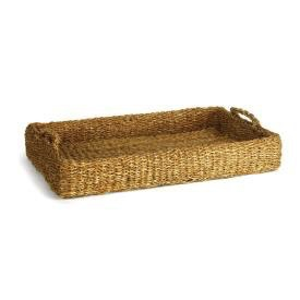 SEAGRASS LOW TRAY WITH HANDLES<br /> SEAGRASS ROUND PLACEMAT<br /> SEAGRASS MINI SQUARE BASKET