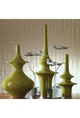 Minaret Vase-Green-Med
