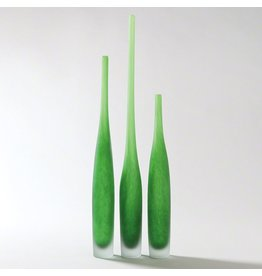 Global Views Spire Bottle-Asparagus-Med