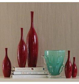 Juggler Vase-Red-Lg