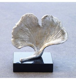 Ginkgo Leaf Objet-Silver