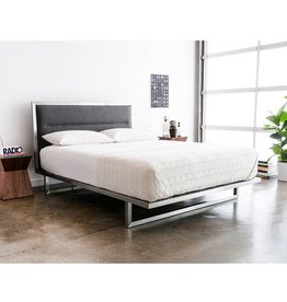 Gus* Modern Midway Bed, Queen, Varsity Charcoal