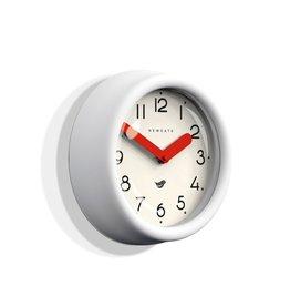 Newgate Pantry Clock- Pebble White