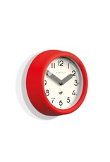 Pantry Clock- Fire Engine Red