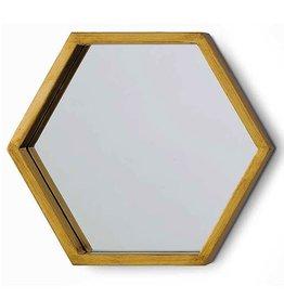 Regina Andrew Bee Hive Mirror Gold Leaf