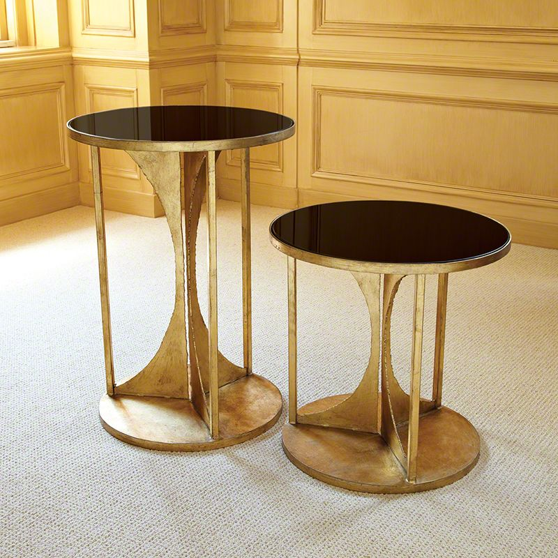 Global Views Hourglass Table Antique Gold, Large   Considered Items For A  Considered Lifestyle | Urbane Home And Lifestyle