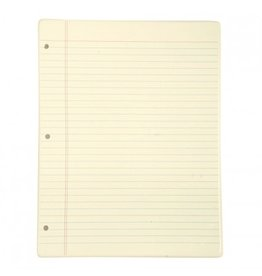 Fishs Eddy Memo Notebook Tray Light Yellow