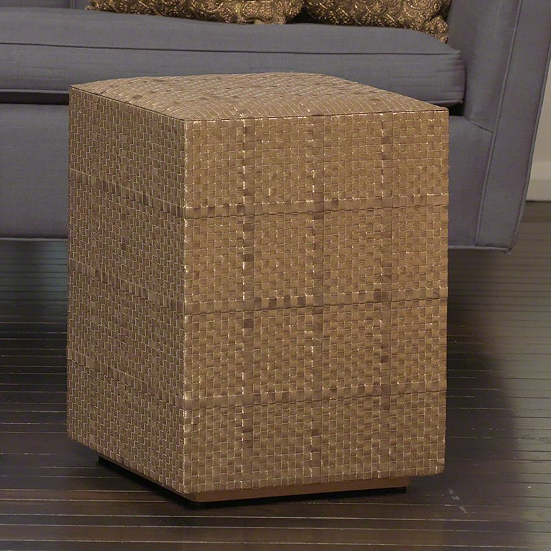 Golden Weave Stool