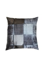 "Aviva Stanoff Design 20""x20"" Pillow, Signature Velvet, Pyrite on Eclipse"