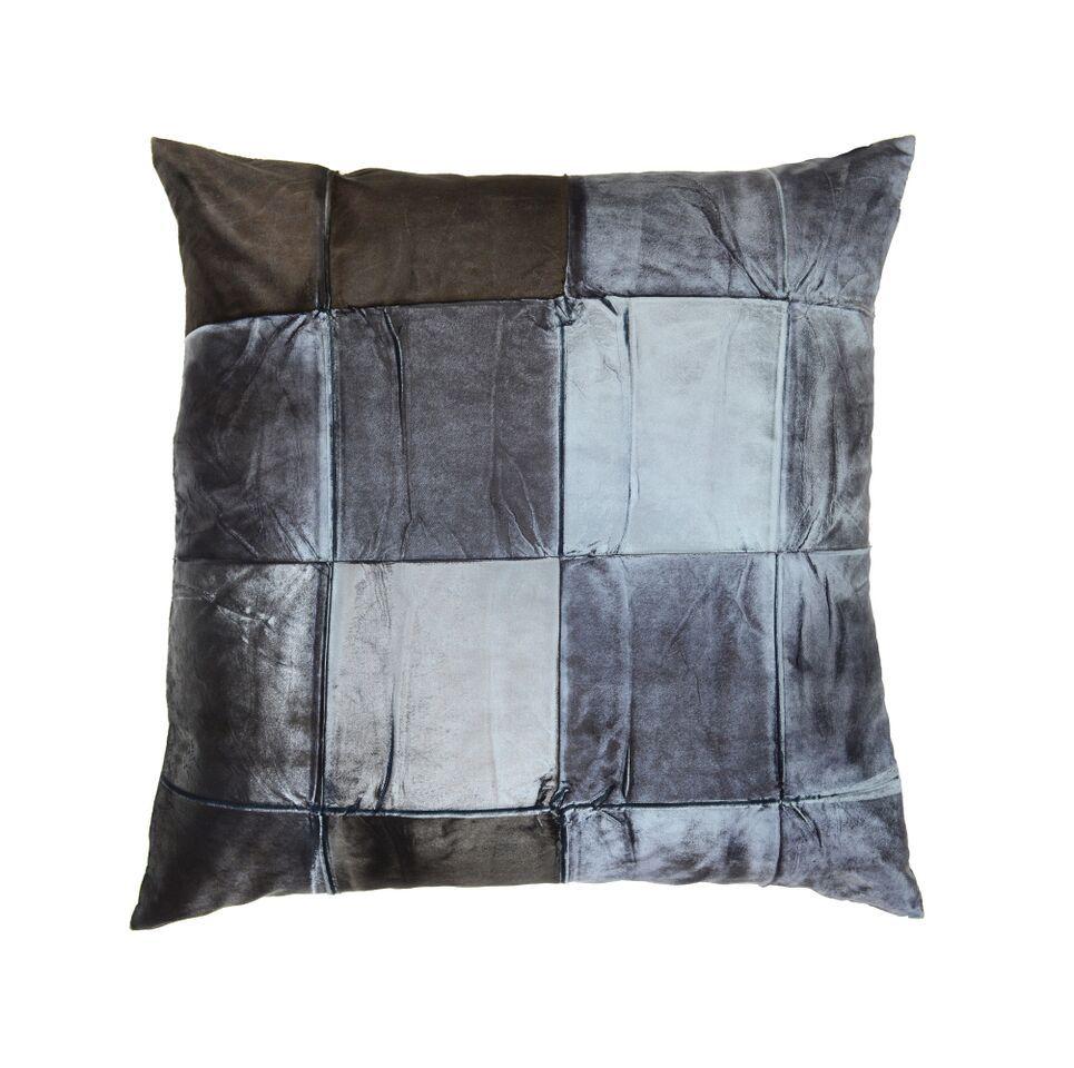 "20""x20"" Pillow, Signature Velvet, Pyrite on Eclipse"