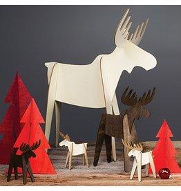 Design Ideas Alpine™ moose (set of 4:natural)