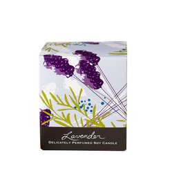 Soap and Paper Factory Soy Candle, Lavender