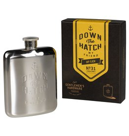 Wild and Wolf Hip Flask 6oz