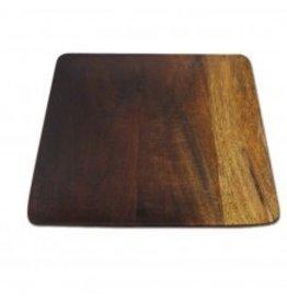 Ombre Mango Wood Square Plates, Large