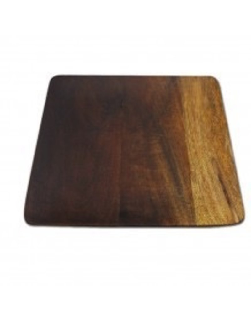 Be Home Ombre Mango Wood Square Plates, Large