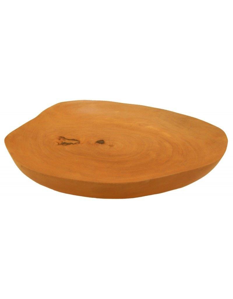 Be Home Mango Wood Plate Medium