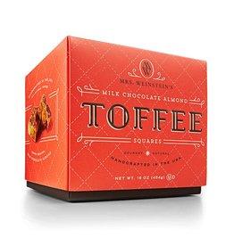 Mrs. Weinstein's Toffee™ Milk Almond Toffee Squares (16 oz)