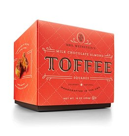Sweet Shop USA Mrs. Weinstein's Toffee™ Milk Almond Toffee Squares (16 oz)