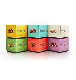 Sweet Shop USA Mrs. Weinstein's Toffee™ Dark Chocolate Almond Sea Salt Toffee Squares (16 oz)