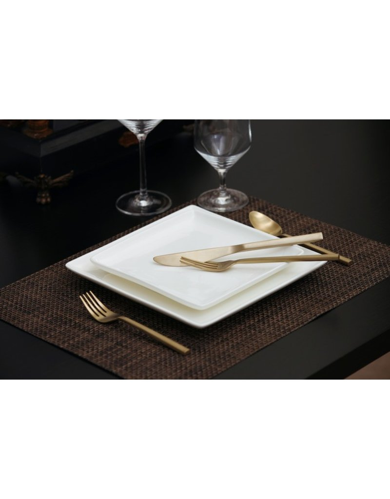 Fortessa SS Arezzo Brushed Gold Place Setting