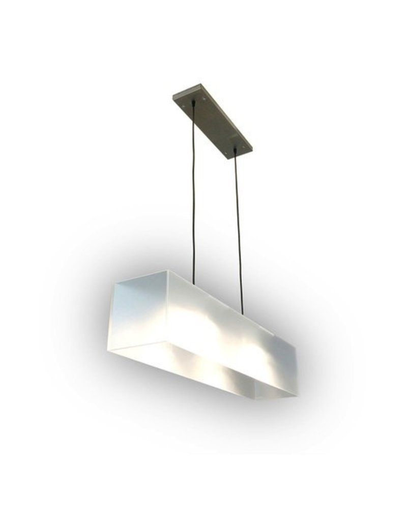 Gus* Modern Frosted Acrylic Hanging Lamp