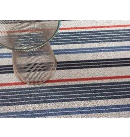 Chilewich Shag Mixed Stripe Montauk Utility Mat (24'' x 36'')