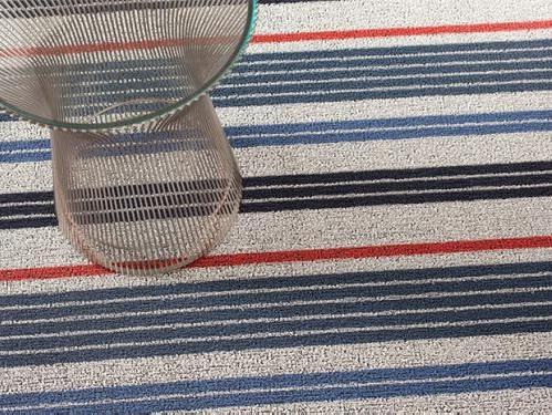 Shag Mixed Stripe Montauk Runner (24'' x 72'')