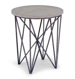 Regina Andrew Cecil Accent Table-Black Iron