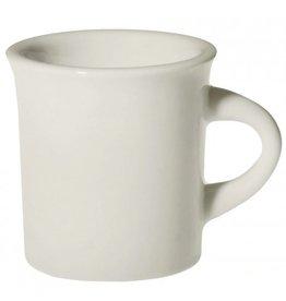 Fishs Eddy Diner White Mug, 8.75 oz.