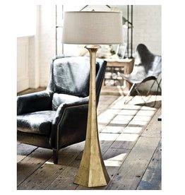 Regina Andrew Tapered Gold Floor Lamp