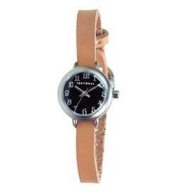 Isla Watch, Brown/Black