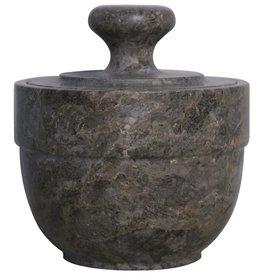 White Marble Sugar Urn