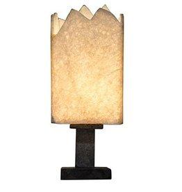Noir Onyx Square Table Lamp