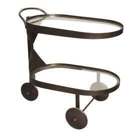 Noir Castra Serving Cart